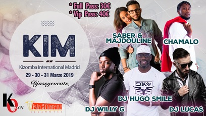 Kim 2019 (kizomba International Madrid)