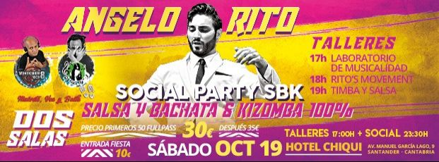 """ANGELO RITO"" SOCIAL PARTY SBK SANTANDER"
