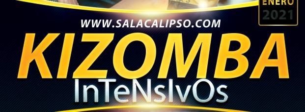 Intensivo KIZOMBA Sábado 23 Enero 2021 - Sala Calipso